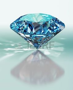 diamond. 3d render Stock Photo