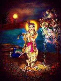 Jai Shree Krishna.. May Lord Krishna's flute invite the melody of love into your life.. #eternallove #LordKrishna #haribol #Krishna #Kanhaiya #kahna #art #beautiful #lovethis #stunning #instalike #instadaily #instagood #instamood #instacool #instalove #fab #bansuri #flute #peacock #Hinduism #spiritual #spirituality #Indian #desi