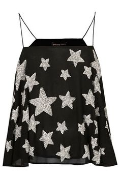 **Embellished Star Cami Top by Kate Moss for Topshop - Kate Moss for Topshop - Clothing