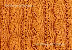 Knitting Stitches Collection: Stitch No. 91