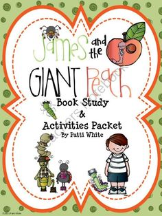 James and the Giant Peach Book Study and Activities Packet from ASeriesof3rdGradeEvents on TeachersNotebook.com (64 pages)  - This book study for James and the Giant Peach is sure to keep your students engaged in this award winning novel! You can use all of it or you can pick and choose.