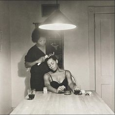 Carrie Mae Weems, Kitchen Table Series (1990)