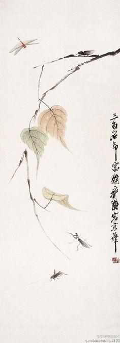 [转载]齐白石书画欣赏