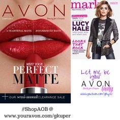 #AvonBrochure 5 NOW available  2/2/16 -2/16/16    Meeet your Perfect Matte #ShopAOB @ https://www.avon.com/brochure/?s=ShopBroch&c=repPWP&repid=8936901