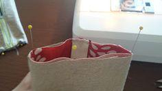 Katkeamaton ompeluketju: Supernopea neljänsauman penaali Laundry Basket, Wicker, Organization, Home Decor, Getting Organized, Organisation, Decoration Home, Room Decor, Tejidos