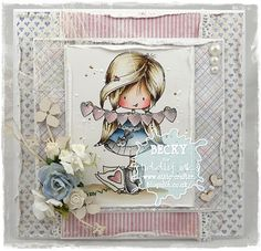 lots of love card by Becky Hetherington