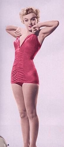 Bathing suit of the 50's