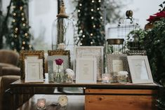 tableau de mariage con cornici Lovers, Wedding Ideas, Table Decorations, How To Plan, Makeup, Winter, Home Decor, Winter Time, Make Up