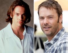 Barry Watson Then and now:)