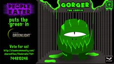 """People Eater puts the """"green"""" in #GreenLight http://steamcommunity.com/sharedfiles/filedetails/?id=744813246 #game #indiedev #pc #steam…"""