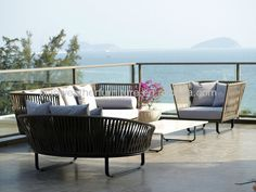 Kettal Outdoor Balcony Furniture, Indoor Outdoor Furniture, Home Decor Furniture, Kettal Furniture, Online Furniture, Garden Furniture, Lounge Design, Balcony Design, Sofa Design