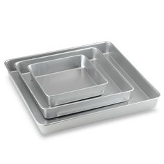 product image for Wilton® 3-Piece Square Cake Pan Set