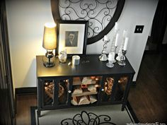 Free Stereo Console Makeover :: Hometalk,  I have had my eye on old stereo cabinets for a while now. After seeing this I will be watching for one. Isn't this amazing!