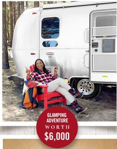 Oprah Magazine Auto Camp Airstream Adventure Sweepstakes