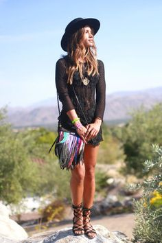 37 of the best street style looks spotted at Coachella this weekend.