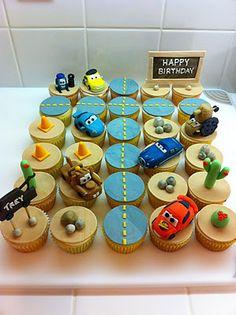 Kaylynn Cakes: Dsiney's Cars Themed Cupcakes