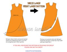 Pola Dress Layer / Layer Dress Pattern - Proud Sewist