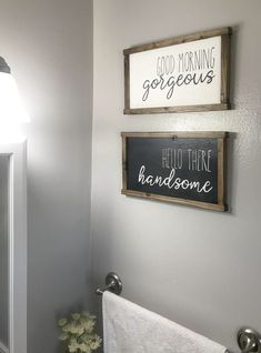 Looking for for images for farmhouse bathroom? Check this out for amazing farmhouse bathroom ideas. This kind of farmhouse bathroom ideas looks entirely amazing. Farmhouse Homes, Rustic Farmhouse, Farmhouse Signs, Farmhouse Bathrooms, Country Bathrooms, Farmhouse Interior, French Farmhouse, Farmhouse Ideas, Country Kitchen