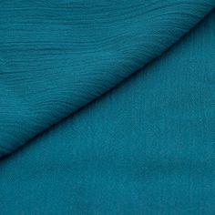 Tissu crépon 100 % viscose avec des ondulations irrégulières. Très belle qualité. Idéal pour la réalisation de robes, tops, jupes, gilets, chemisiers, tuniques   - Composi - 7911930