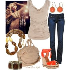 """""""Girls night out"""" by pink-rose-style on Polyvore"""