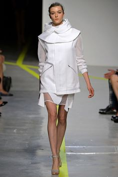 Richard Nicoll Spring 2013 ready-to-wear. London Fashion Week.