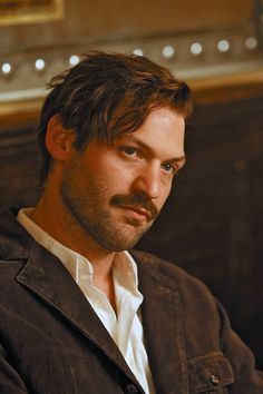 Corey Stoll as Hemingway in Midnight in Paris