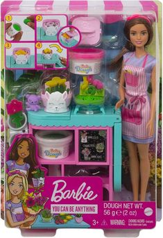 Barbie Kids, Barbie Dolls Diy, Doll Clothes Barbie, Barbie And Ken, Diy Doll, Barbie Shop, Little Girl Toys, Toys For Girls, Barbie Playsets