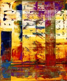 Gerhard Richter » Art » Paintings » Abstracts » Abstract Painting » 721-4