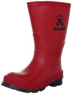 This rain boot from Kamik features sturdy tread and a classic look. Product Features Waterproof Comfort EVA footbed Moisture-wicking lining TREK outsole Lightweight This rain boot from Kamik featur… Boys Rain Boots, Rain And Snow Boots, Winter Snow Boots, Boys Shoes, Rubber Rain Boots, Red Boots, New Handbags, Outdoor Outfit, Classic Looks