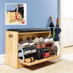 narrow shoe dresser - Google Search Shoe Organizer, Closet Organization, Shoe Dresser, Homemade Closet, Taylor Gifts, Diy Shoe Rack, Narrow Shoes, Desk And Chair Set, Bench With Shoe Storage