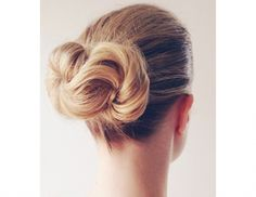 This Infinity Bun created by The Beauty Department is sheer genius.