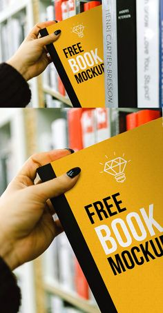 Free book cover mock