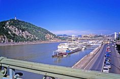 """View of the Danube at Budapest, Hungary 2001"" by Priscilla Turner, Vancouver, BC, Canada // View of the Danube at Budapest, Hungary 2001 // Imagekind.com -- Buy stunning, museum-quality fine art prints, framed prints, and canvas prints directly from independent working artists and photographers."