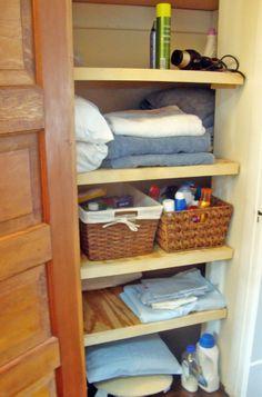 linen closet organization. Ive always been really bad at linen closet organization