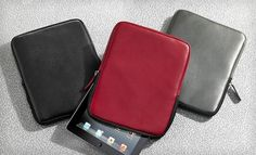 Wilsons Leather iPad Zip Sleeve with Gift Box $24 – 52% Off. This deal ends on 12/01/12