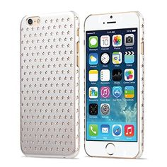 iPhone 6 Case - KAYSCASE Usmed Slim Starry Hard Shell Cover Case for Apple iPhone 6, iPhone Air 4.7 inch 2014 Version (Lifetime Warranty) (White) KaysCase http://www.amazon.com/dp/B00N1TL3P8/ref=cm_sw_r_pi_dp_RfsNub1KNE9S4
