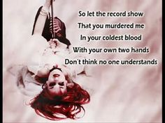 Let The Record Show by Emilie Autumn by Nel Cameron | We Heart It