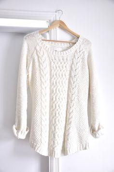 White swetear