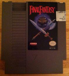 Final Fantasy for Original Nintendo-Vintage-Cleaned on Etsy, $13.00