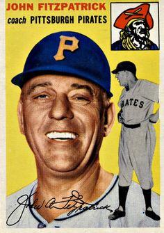 213 - John Fitzpatrick RC, CO - Pittsburgh Pirates
