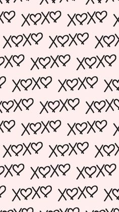 XOXO, wallpaper, background, HD, iPhone, Android, iPad, Cute