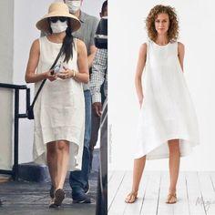 Harry And Meghan News, Prince Harry And Meghan, California Style, California Fashion, Meghan Markle Outfits, Casa Real, Duke And Duchess, Ideias Fashion, White Dress