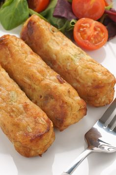 Glamorgan Sausages Recipe - a Welsh Treat - Selsigen Morgannwg - Serenity Kitchen Sausage Recipes, Veggie Recipes, Vegetarian Recipes, Cooking Recipes, Welsh Recipes, Scottish Recipes, British Recipes, Turkish Recipes, Kitchens