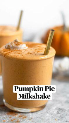 Pumpkin Pie Coconut Milk, Dairy Free Pumpkin Pie, Pumpkin Ice Cream, Vegan Pumpkin, Canned Pumpkin, Pumpkin Recipes, Fall Recipes, Pumpkin Spice, Pumpkin Milk Recipe