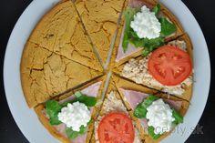 Fitness raňajky s vysokým obsahom bielkovín Hummus, La Socca, Pita, Le Diner, Cottage Cheese, Calories, Sans Gluten, Raw Vegan, Granola