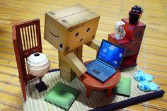 danbo's office: by flickr user sky-train