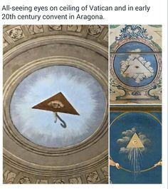 All Seeing Eye, Ancient Aliens, Vatican, Clock, Home Decor, Watch, Decoration Home, Room Decor, Clocks
