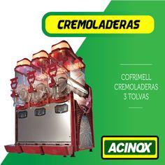 Cremoladera Cofrimell 3 Tolvas