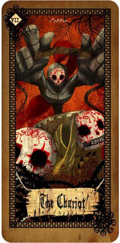 Tarot card - The Chariot | Cotton's Blog