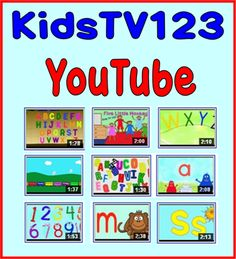 Best Channel for Teaching Videos for Young Children.this is part of what they teach Aiden in preschool.soo cute to hear him sing along :) Technology Websites, Teaching Technology, Teaching Tools, Teacher Resources, Educational Videos, Educational Technology, Kindergarten Classroom, Kindergarten Songs, School Videos